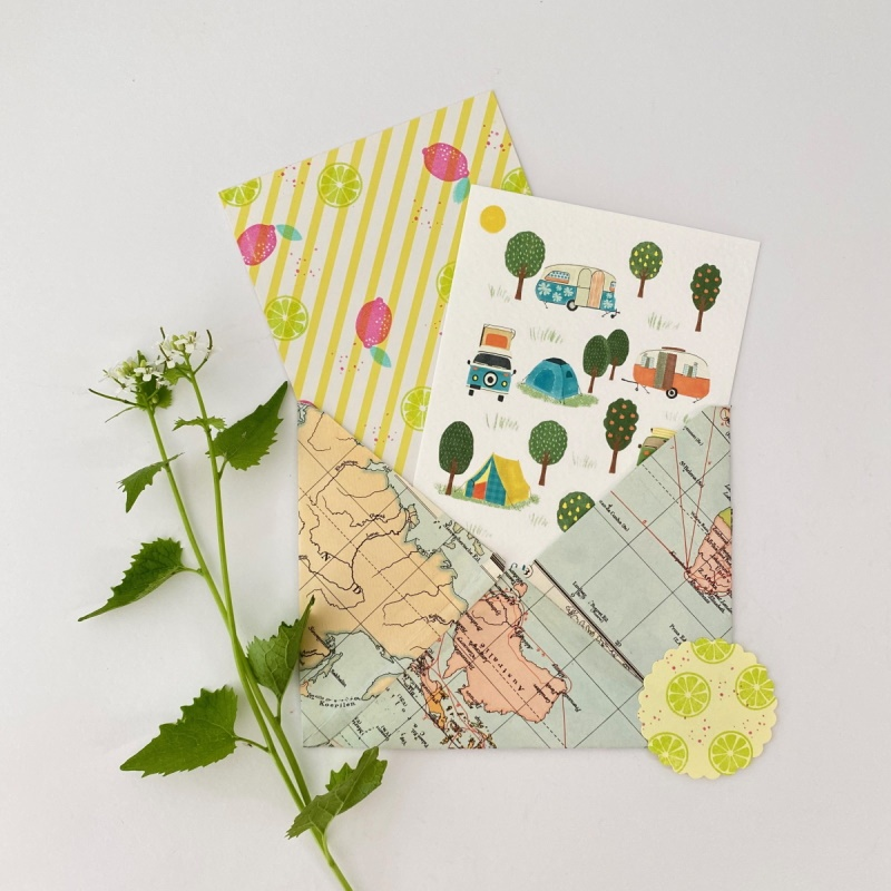 Passie Bloom | Stationery webshop, selectie assortiment.